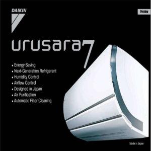 Ac Split FTXZNVM4 Urusara7 Daikin Splitwall
